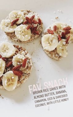Switch honey for agave and it's vegan healthy meal prep, healthy snacks, healthy sweets I Love Food, Good Food, Yummy Food, Tasty, Healthy Meal Prep, Healthy Eating, Breakfast Healthy, Plats Healthy, Snack Recipes