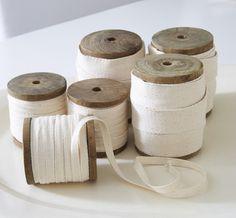 cream cotton tape