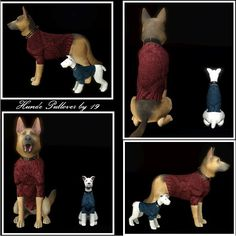 Small and large sweaters for dogs by Michaela P. - Sims 3 Downloads CC Caboodle