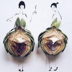 Después de ver esto no volverás a ver la fruta como antes, encontrarás moda por todos lados.