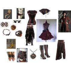 """Steampunk Pirate"" by msaidan on Polyvore"