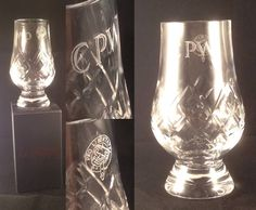 What better favour for your gentlemen guests?  A lead crystal glass, hand-etched with their initials and your family motif.  It's a great memory of your special day, and they'll certainly use it a lot!  www.wandsoflondon.com