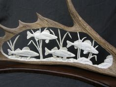 Antlers to Art by Bob Cochrane (website)- his 3D carvings out of deer and moose antlers are amazing!