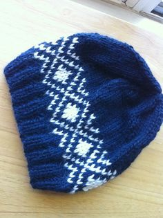 Winter's Coming pattern by C-Lo - Knitted Hats - Loom Knitting, Knitting Stitches, Free Knitting, Baby Knitting, Fair Isle Knitting Patterns, Crochet Patterns, Knit Or Crochet, Crochet Hats, Knitting Accessories