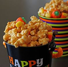 This post is going out with a disclaimer:  This stuff is seriously addicting!  I didn't even think I liked caramel corn that much, but I (a...