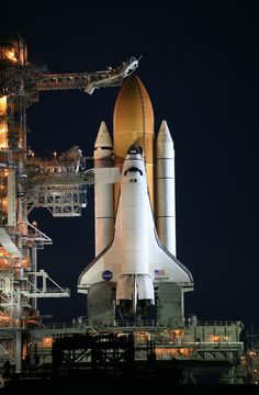 Atlantis Stands Ready!  What a beautiful view!!