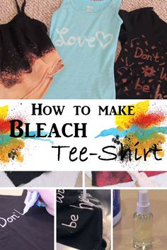 Pin Share Tweet Share StumbleUpon Tee shirt is a year-round style. Whether you stroll around the park or out of town, you surely look stylish and sophisticated. However, a t-shirt should not always be plain. With bleach and water, you can turn those dull garments into fabulous ones. Find the instructions on how to add personal touch …