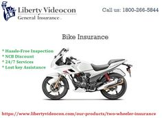 Secure your bike with 2 wheeler insurance policy from Liberty Videocon. Buy and renew a motorbike insurance policy online at attractive and discount prices. Click here to know more about LVGI 2 wheeler insurance policy: https://www.libertyvideocon.com/our