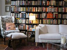 Erin & Rob's Lots of Books in One Very Long Room
