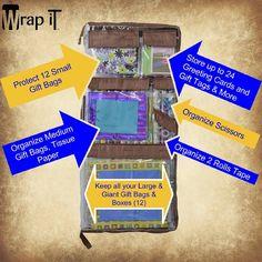 Gift Wrap Organizing