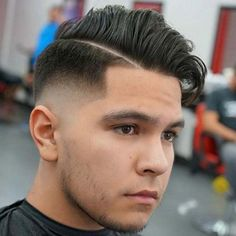 Comb Over Fade Haircut, Boys Fade Haircut, Best Fade Haircuts, Fade Haircut Styles, Tapered Haircut, Haircuts For Curly Hair, Modern Haircuts, Combover Hairstyles, Mens Hairstyles Fade