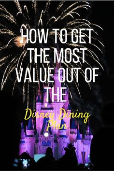 These Disney Dining Plan hacks will show you how to maximise your $$ value and make your credits stretch further! Disney Dining Plan, Disney World Planning, Disney Tips, How To Get, How To Plan, Hacks, Make It Yourself, Vacation, Eat