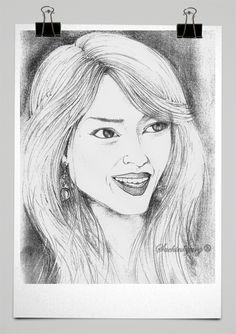 HAND DRAWN GIRL  .. Pencil sketches by Sachin Garg Beautiful Girl Sketch, Hand Drawn, How To Draw Hands, Pencil, Sketches, Art, Drawings, Art Background, Kunst