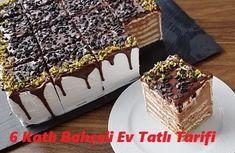 6 Katlı Bahçeli Ev Tatlı Tarifi - İyi Hobi Tiramisu, Tart, Desserts, Food, Tailgate Desserts, Deserts, Pie, Essen, Tarts