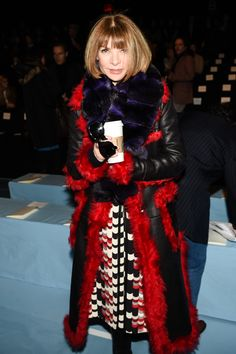 Front Row Friends: Anna Wintour at Fall '15
