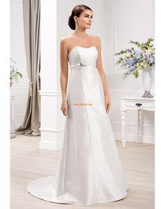 Hjärtformad Klassisk & Tidlös Empire Bröllopsklänningar 2014