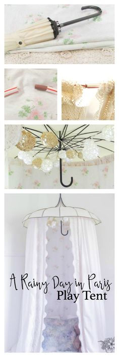 A Rainy Day in Paris Play Tent - Pocketful of Posies