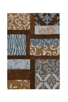 Bradford High-Low Carved Rug - Multi by Nourison Rugs on @HauteLook