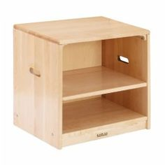 Premium Solid Maple Toddler Cupboard