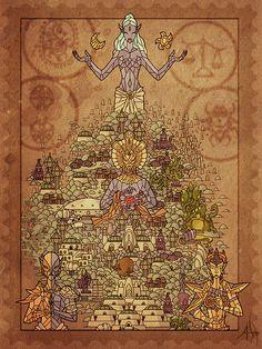 Morrowind Tribunal. Artist unknown.