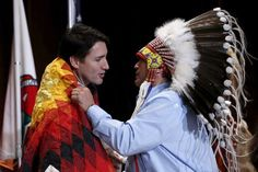 Justin Trudeau during the Assembly of First Nations Special Chiefs Assembly in Gatineau, Canada