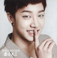 BLUE EYED K-POP IDOLS: #73  Lee Gikwang - B2ST