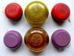 1960s DUNCAN YOYO COLLECTION Vintage Toys by Christian Montone, via Flickr