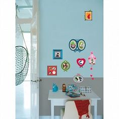 Colorful Photo Frame Wall Stickers