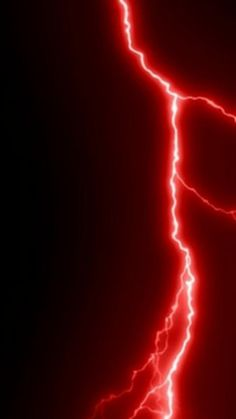 Red lightning looks like a running artery in a way – Color Center