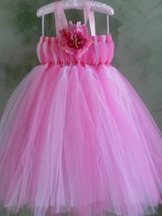 Char!!!! We could totally make this!! Princess Tutu DressEmpire WaistPink and White Colors by Tuturocks, $45.00