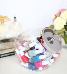 16 Brilliantly Beautiful Storage Solutions For Your Ever-Growing Nail Polish Collection