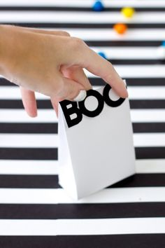 Boo! Printable Halloween Treat Bags    the sweetest occasion
