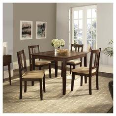 Elegant Dorel Living Rustic Dining Set