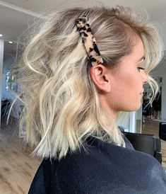 Fresh Hair, Good Hair Day, Pretty Hairstyles, Hairstyle Ideas, Side Part Hairstyles, Pulled Back Hairstyles, Daily Hairstyles, Easy Hairstyle, Baddie Hairstyles
