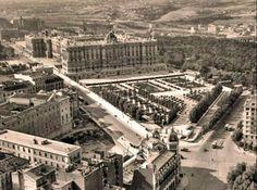 Madrid en 1950