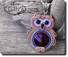 It's my next soutache plan :) Owl Jewelry, Beaded Jewelry, Handmade Jewelry, Handmade Necklaces, Soutache Pendant, Soutache Necklace, Owl Fabric, Shibori, Beaded Embroidery