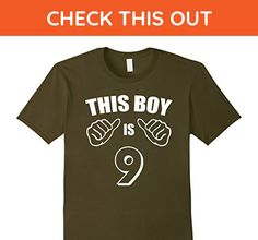 Mens 9 Year Old Shirt For Boy Kid