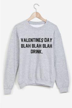Valentines Day Blah Blah Blah Drink