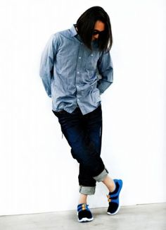 Hiroshi Fujiwara Spring/Summer 2013 Sports-Mix Style Editorial by OUTSTANDING Magazine | SLAMXHYPE
