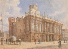 Castello Reale (Royal Palace), Turin Franz von Alt - 1845