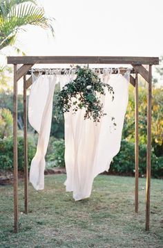 Beautiful ceremony decor: http://www.stylemepretty.com/2014/02/10/rustic-chic-australian-shoot-at-gurragawee/ | Photography: Feather & Stone - http://featherandstone.com.au/