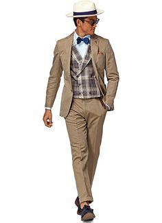 Suit Taupe Plain Copenhagen P3834i   Suitsupply Online Store