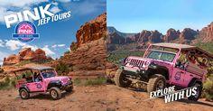 Broken Arrow and Scenic Rim Off-Road Jeep Adventure.  Climb rugged terrain along world-famous Sedona, AZ red rock formations.