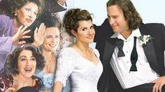 Nia Vardalos, John Corbett movies - My Big Fat Greek Wedding Nia Vardalos, Movie Wedding Dresses, Wedding Movies, Comedy Movies, Film Movie, Greek Wedding 2, Wedding Posters, Wedding Quotes, Movie Quotes