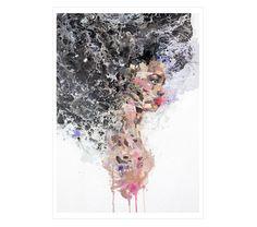 CONFIDENT de #RAL. Reproducción digital seriada y firmada, 40x30 cm. #print #ilustration #ilustracion #dibujo #drawing #Art #Barcelona