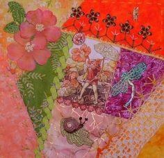CRAZY QUILTING INTERNATIONAL: Flower Fairies II - DYB Round Robin