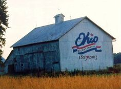 Ohio Bicentennial Barns-Wyandot County (Sadly- this barn is in terrible condition now)