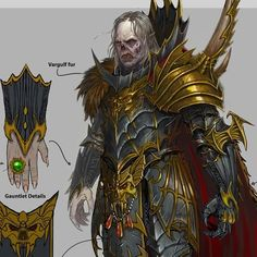 Character Concept, Character Art, Character Design, Vlad Von Carstein, Warhammer Vampire Counts, Warhammer 40k Tyranids, Warhammer Fantasy Roleplay, Fantasy Armor, Geek Art