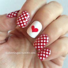 Pullstrings VALENTINE #nail #nails #nailart