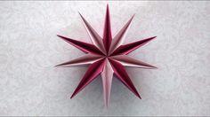 Modular Origami Star ( Ilan Garibi) - YouTube